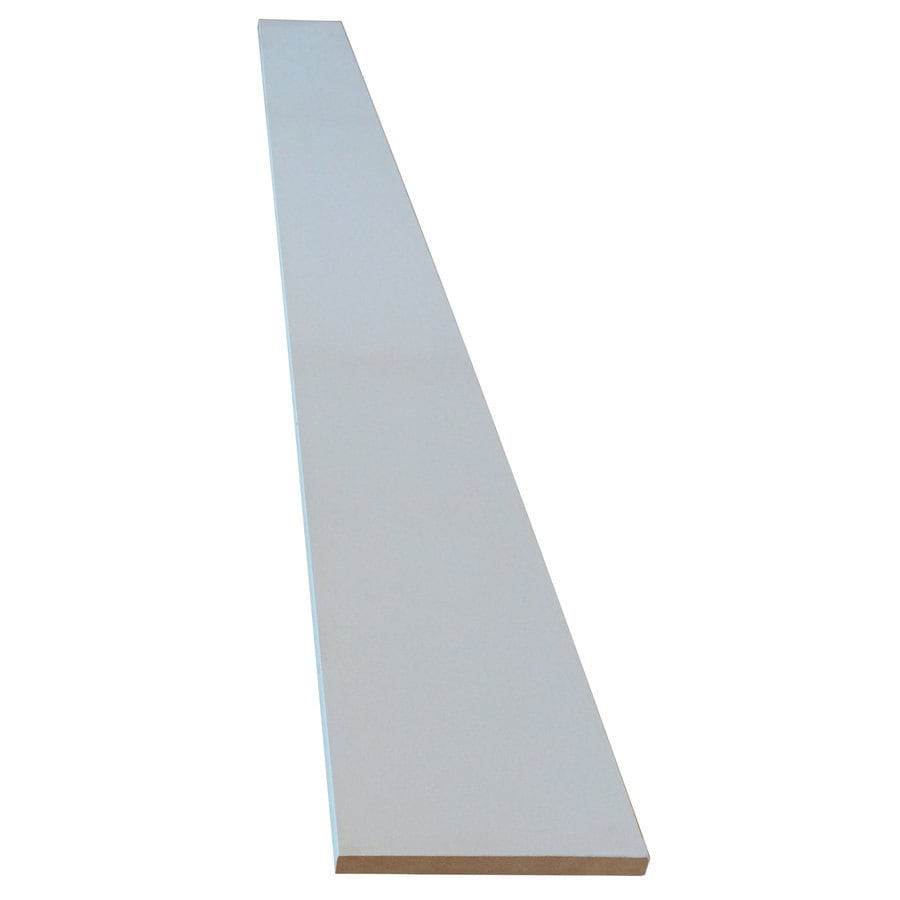 (Actual: 0.656-in x 7.25-in x 8.08-ft) Medium-Density MDF
