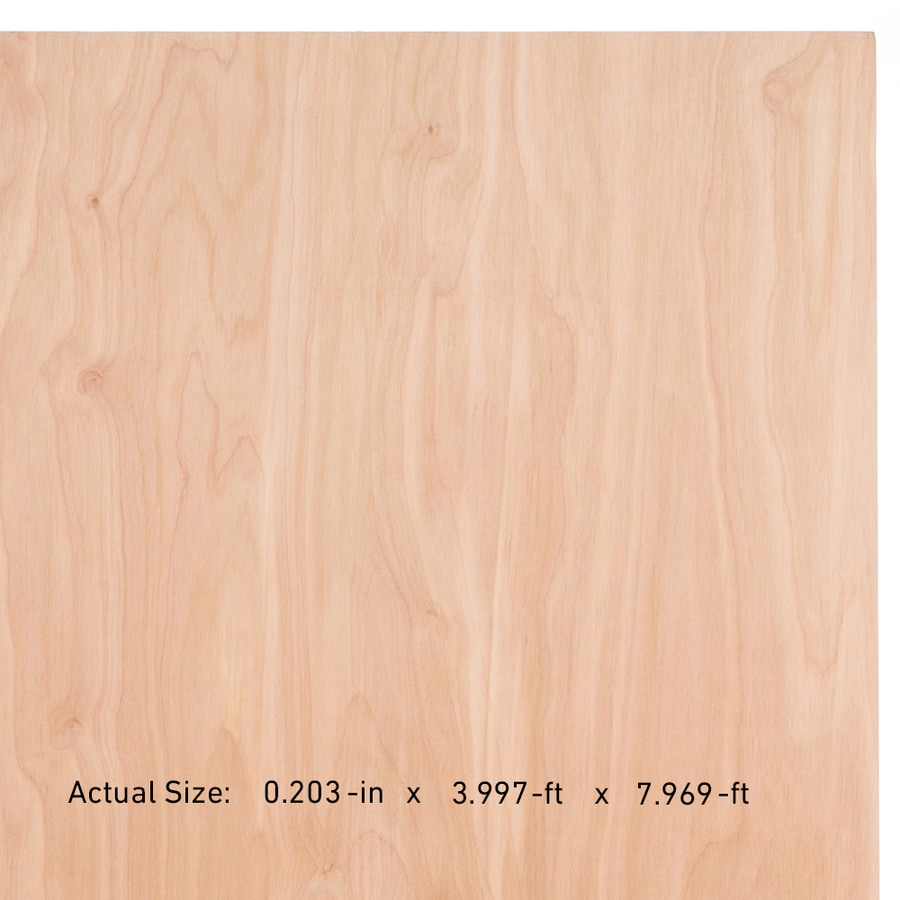 Top Choice SkyPly 1/4-in HPVA Birch Plywood, Application As 4 x 8