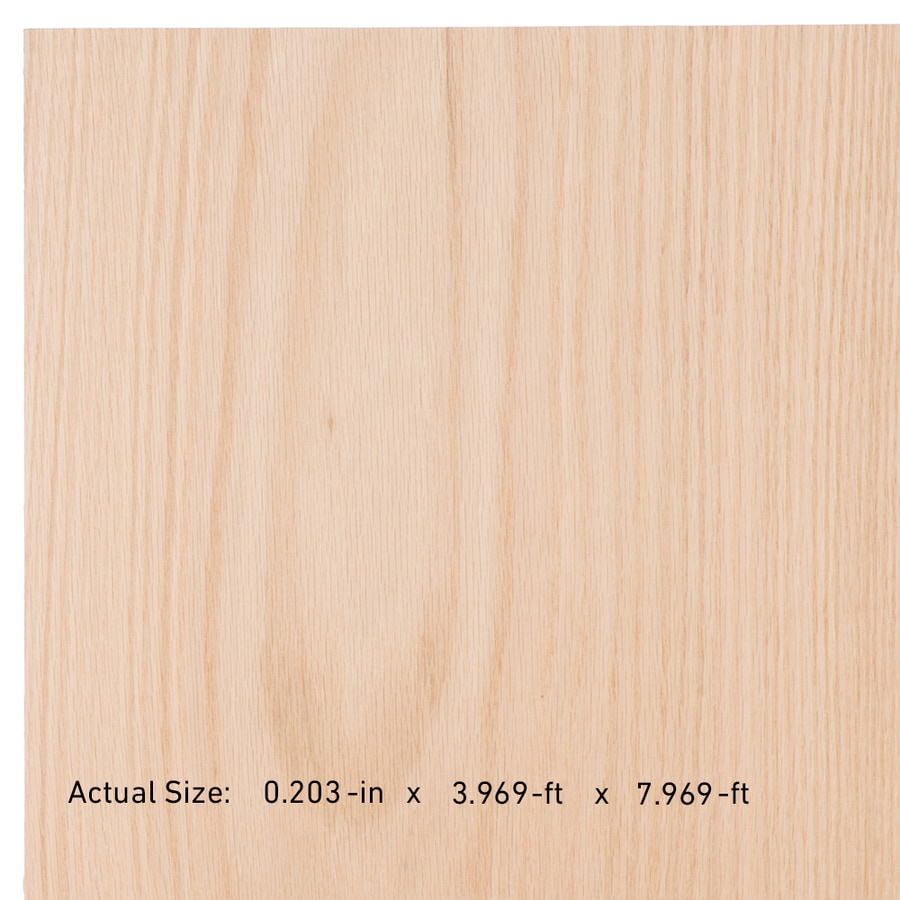 Top Choice SkyPly 1/4-in HPVA Oak Plywood, Application as 4 x 8