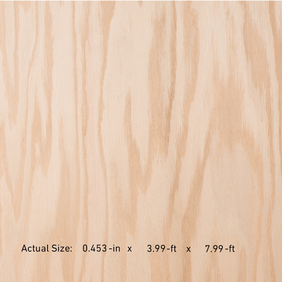 Top Choice SkyPly 1/2-in HPVA Oak Plywood, Application As 4 x 8