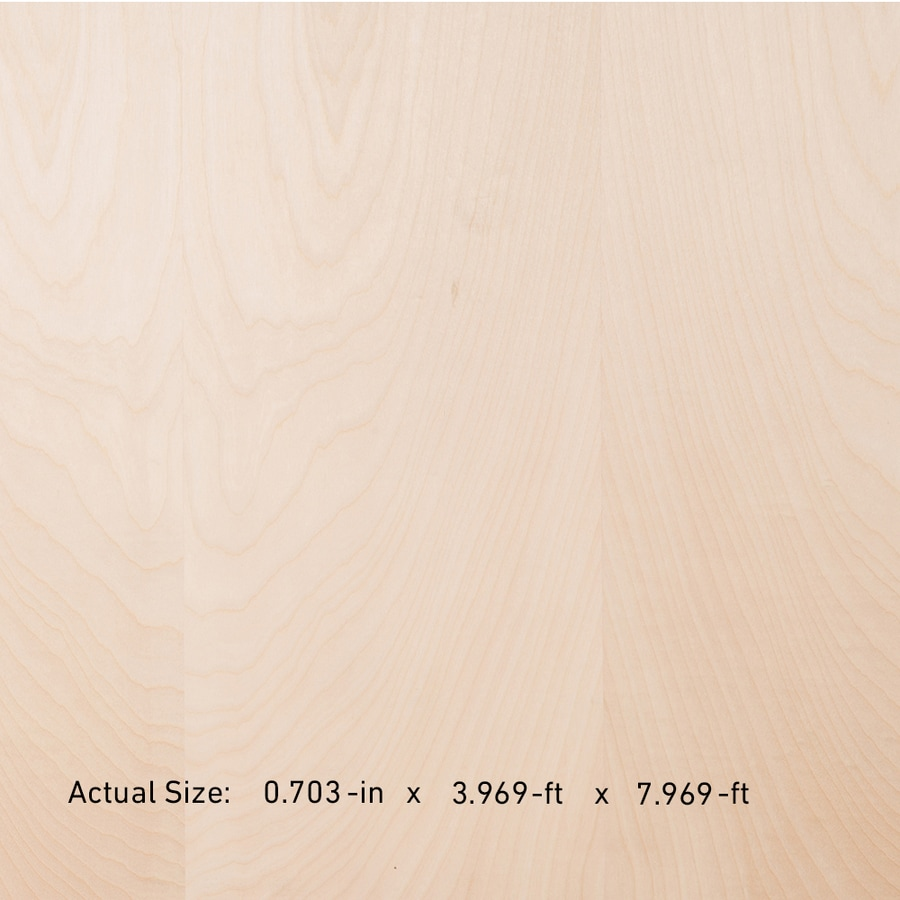 Top Choice SkyPly 3/4-in Common HPVA Birch Plywood, Application as 4 x 8
