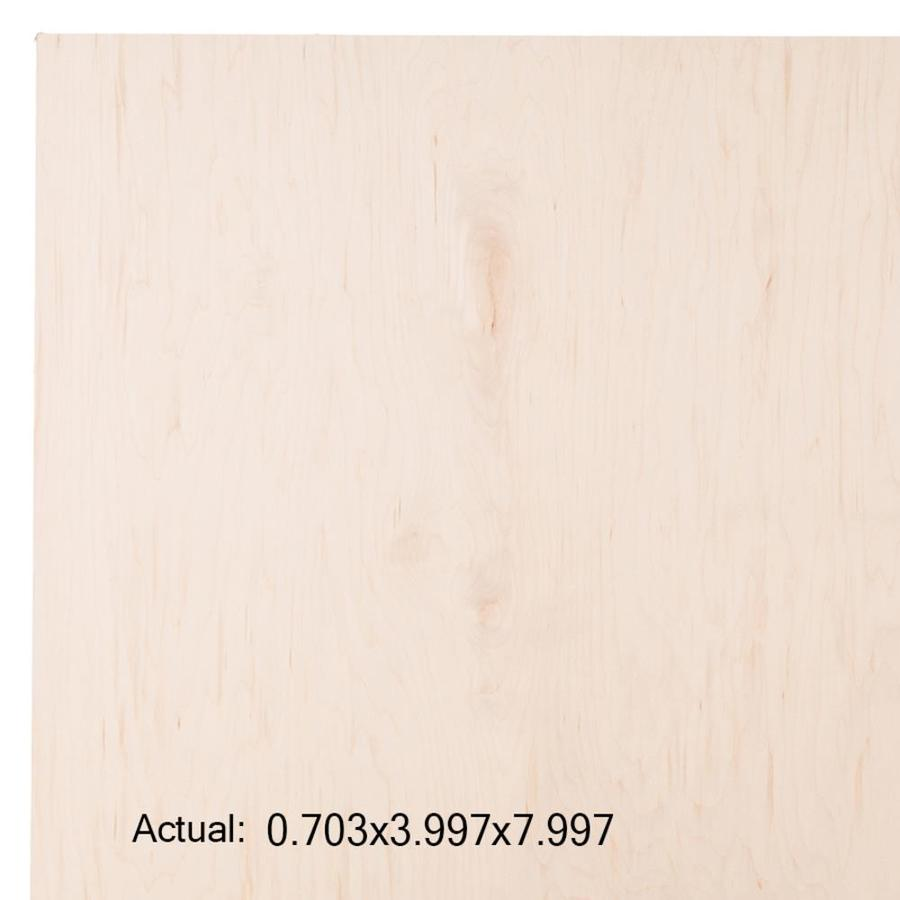 Top Choice SkyPly 3/4-in HPVA Maple Plywood, Application as 4 x 8