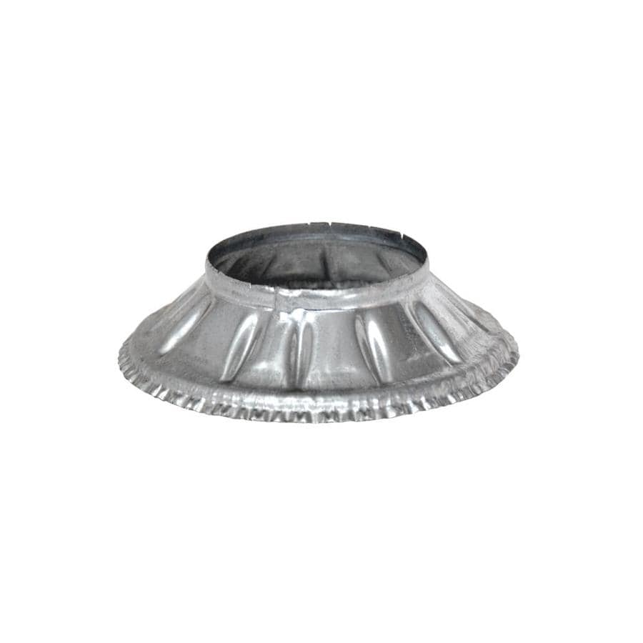 Selkirk Gas Vent 1.5-in x 9.5-in Galvanized Steel Round Storm Duct Starting Collar