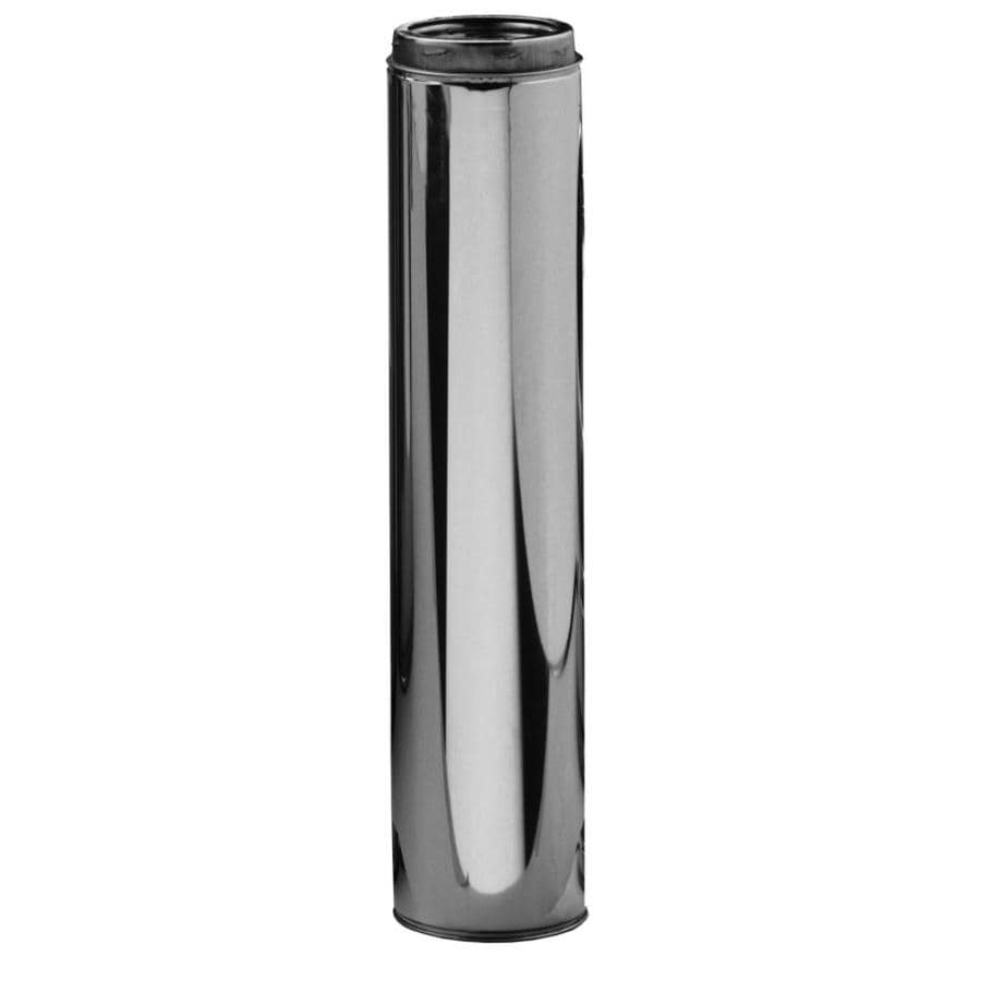 Selkirk 6-in x 36-in Stainless Steel Chimney Pipe