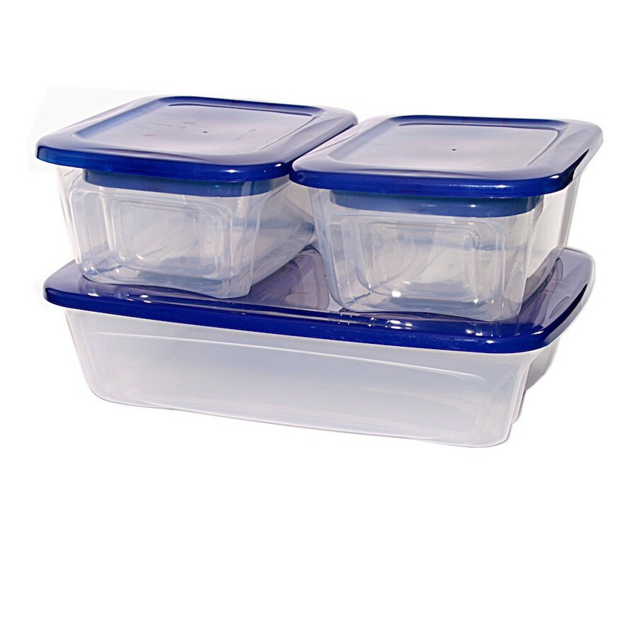 Shop BELLA Contemporary Storage Plastic Stackable Storage Containers