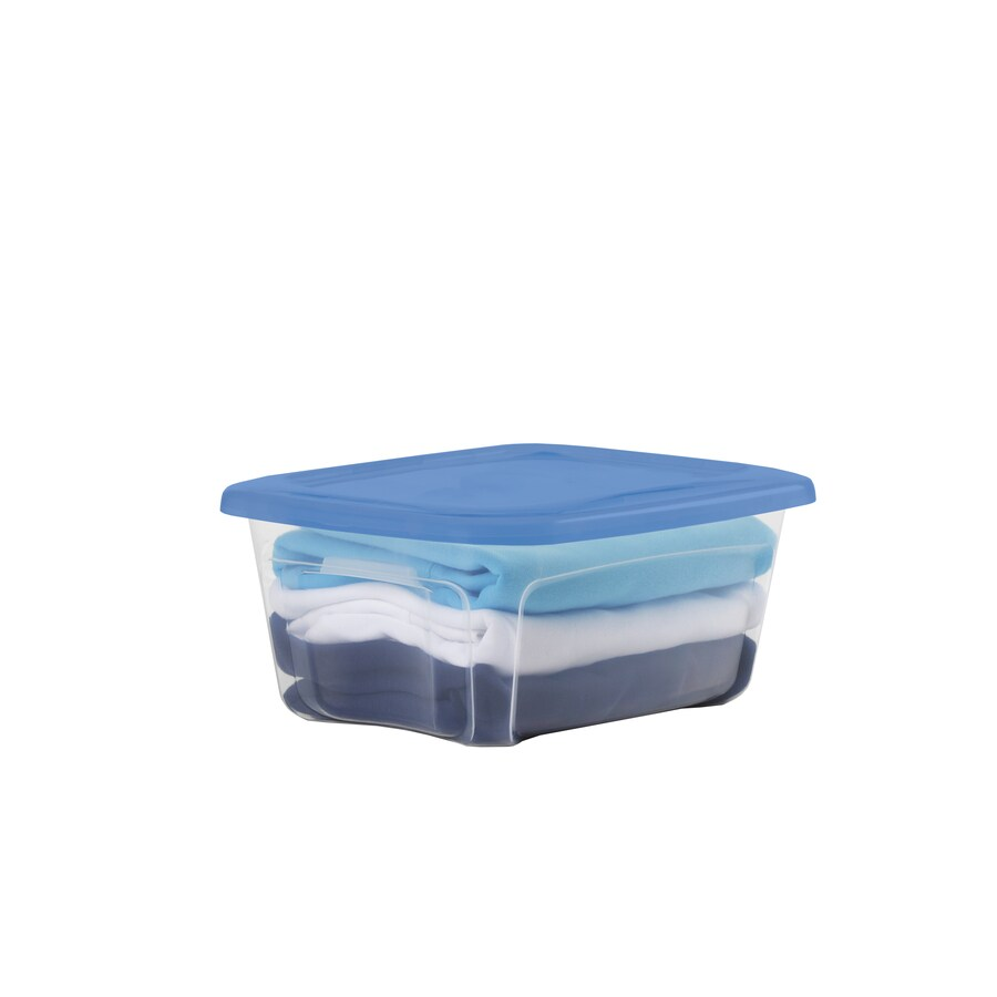 BELLA Contemporary Storage 12-Quart Storage Container