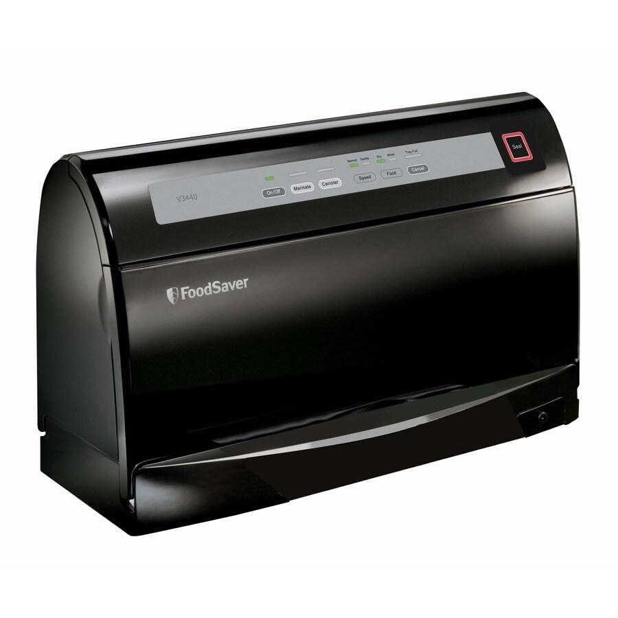 FoodSaver 17.8-in H x 16.3-in W x 7.9-in D Black Vacuum Sealer