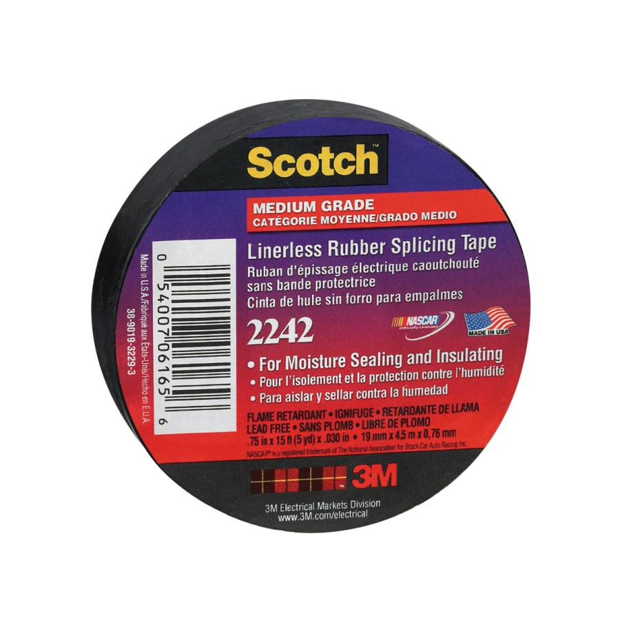 Scotch Rubber Splicing 15-ft Electrical Tape