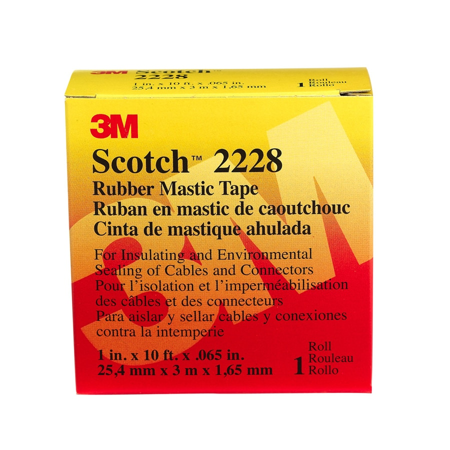 Scotch Rubber Mastic 10-ft Electrical Tape
