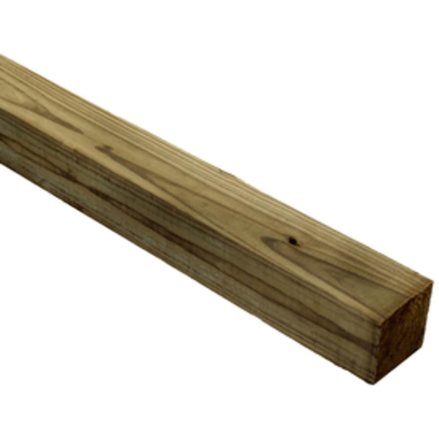 (Common: 4-in X 4-in x 10-ft; Actual: 3.5-in x 3.5-in x 10-ft) Pressure Treated Lumber