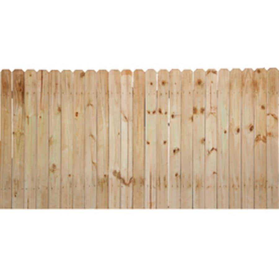 Severe Weather Max (Actual: 6-ft x 8-ft) Pressure Treated Southern Yellow Pine Privacy Fence Panel