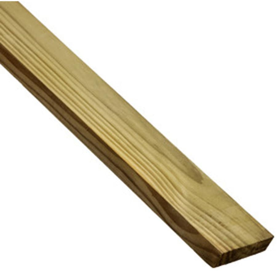 Severe Weather Max (Common: 1-in x 4-in x 10-ft; Actual: 0.75-in x 3.5-in x 10-ft) Square Pressure Treated Unfinished Southern Yellow Pine Board