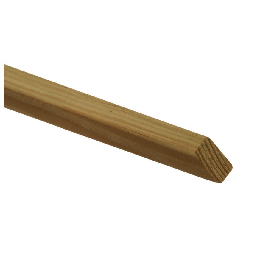 Top Choice (Common: 2-in x 2-in x 42-in; Actual: 1.31-in x 1.31-in x 41.76-in) Pressure Treated Brown Southern Yellow Pine Deck Baluster