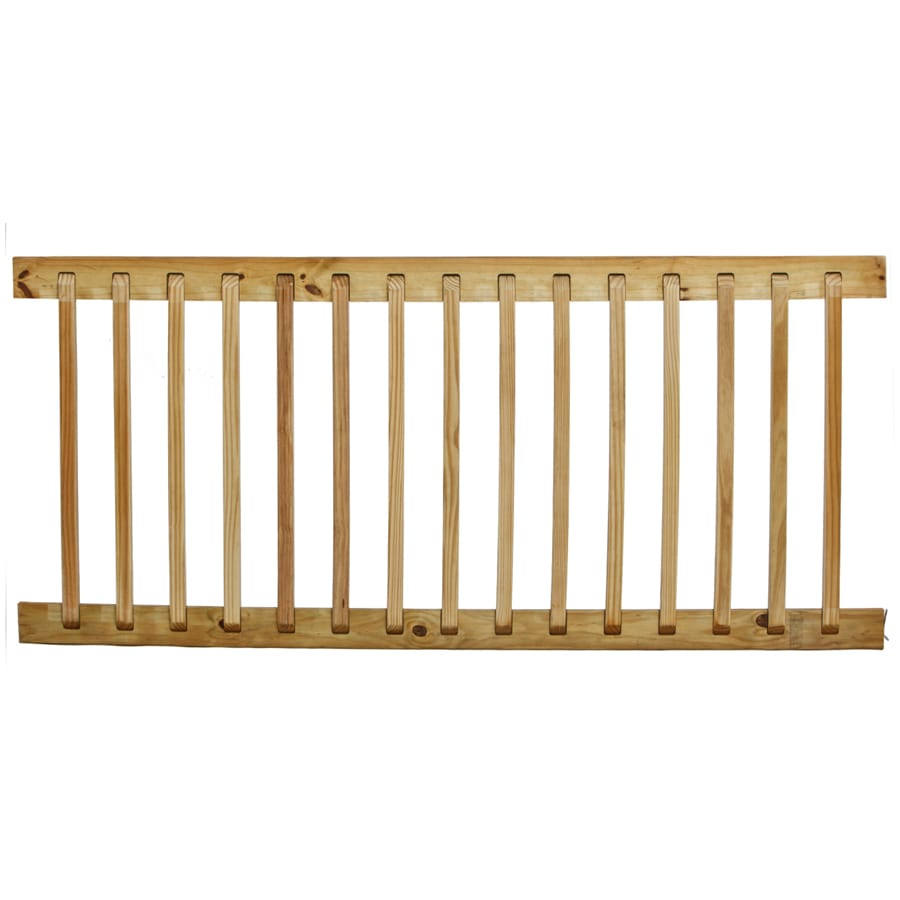 Severe Weather Max (Common: 1-in x 3-in x 6-ft; Actual: 1.37-in x 3.25-in x 6-ft) Pressure Treated Southern Yellow Pine Deck Handrail
