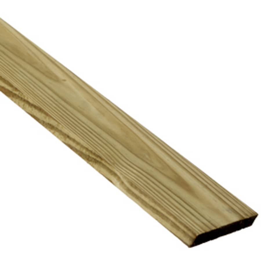 (Common: 1-in x 6-in x 16-ft; Actual: 0.75-in x 5.5-in x 16-ft) Pressure Treated Southern Yellow Pine Board