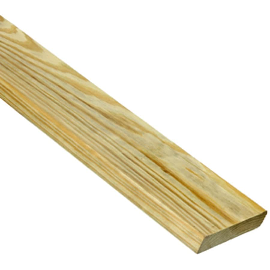Severe Weather Max (Common: 5/4-in x 6-in x 14-ft; Actual: 1-in x 5.5-in x 14-ft) Radius Edge Pressure Treated Southern Yellow Pine Deck Board