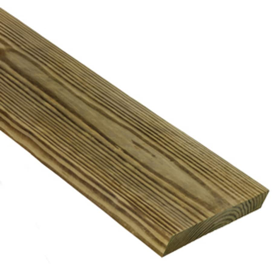 Severe Weather Max (Common: 1-in x 8-in x 12-ft; Actual: 0.75-in x 7.25-in x 12-ft) Square Pressure Treated Unfinished Southern Yellow Pine Board