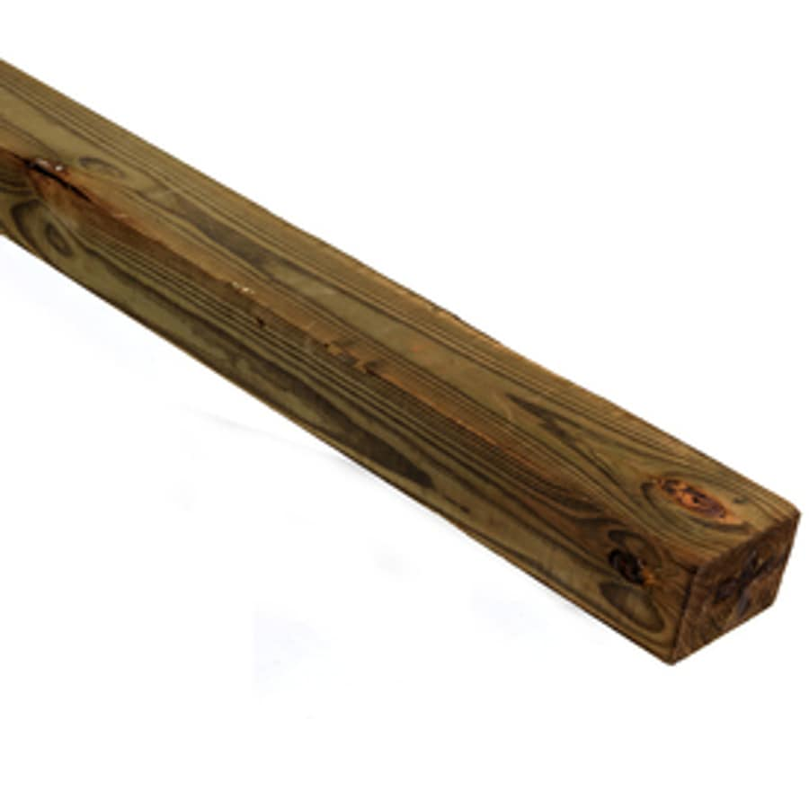 Pressure Treated (Common: 4-in x 6-in x 14-ft; Actual: 3.5-in x 5.5-in x 14-ft) Lumber
