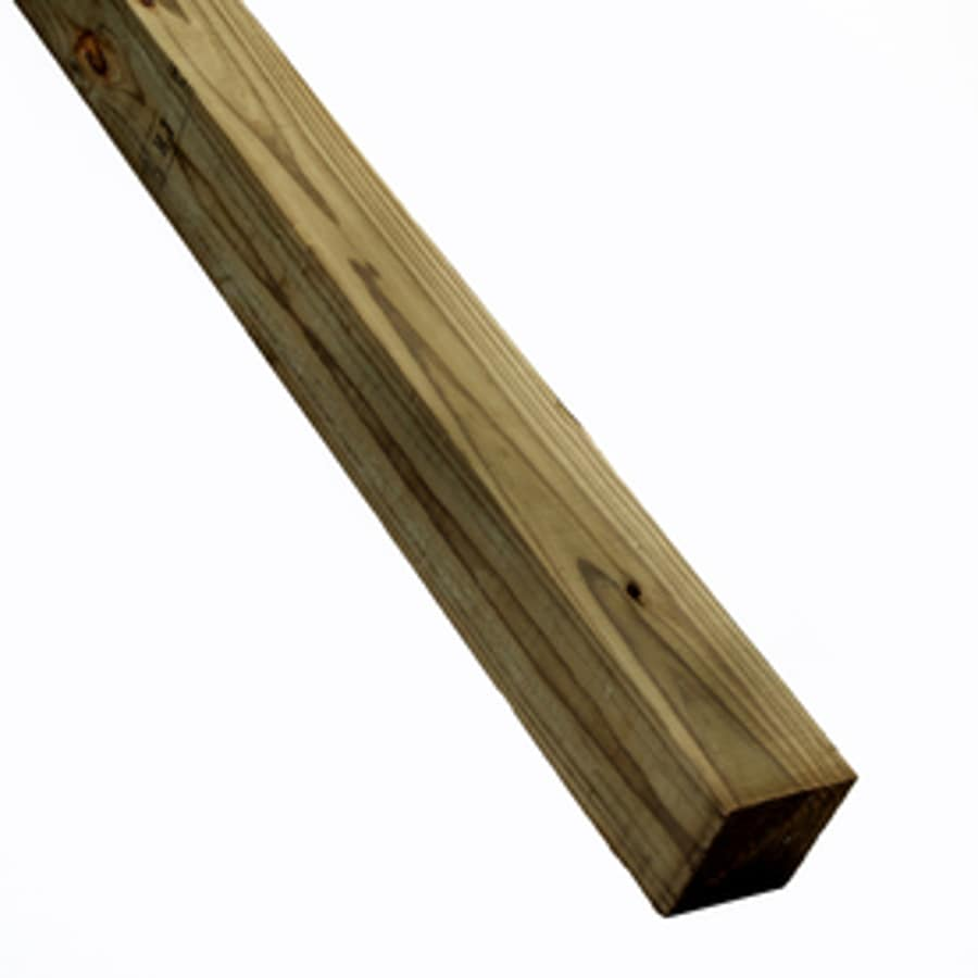 Severe Weather (Common: 4-in X 4-in x 6-ft; Actual: 3.5-in x 3.5-in x 6-ft) Pressure Treated Lumber