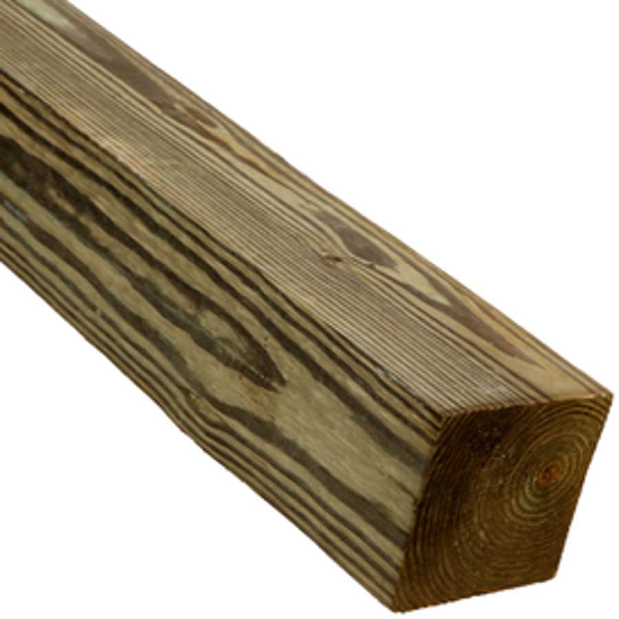 (Common: 6-in x 6-in x 14-ft; Actual: 5.5-in x 5.5-in x 14-ft) Pressure Treated Lumber