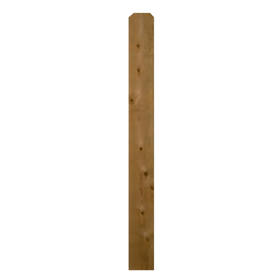 Severe Weather Cedar Fence Picket (Common: 1-in x 8-in x 5-ft; Actual: 0.625-in x 7.5-in x 5-ft)