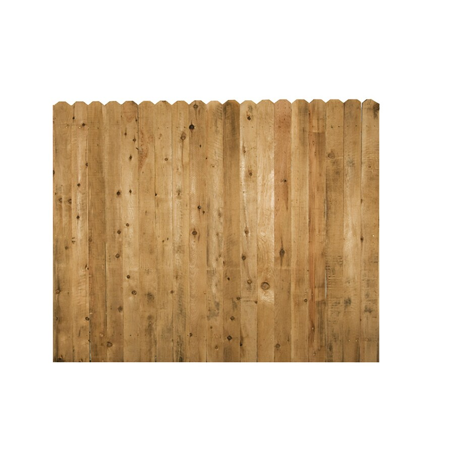 Severe Weather (Common: 6-ft x 8-ft; Actual: 6-ft x 8-ft) Cedar Privacy Fence Panel