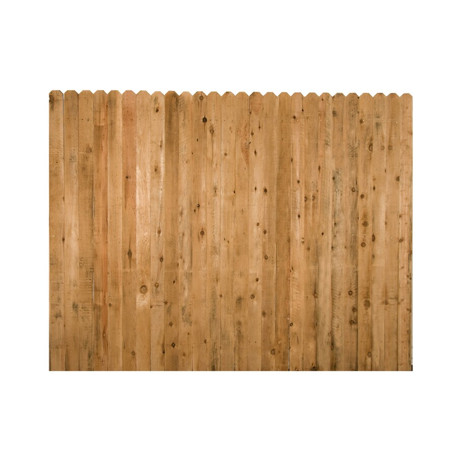 Severe Weather (Common: 8-ft x 6-ft; Actual: 8-ft x 6-ft) Cedar Privacy Fence Panel