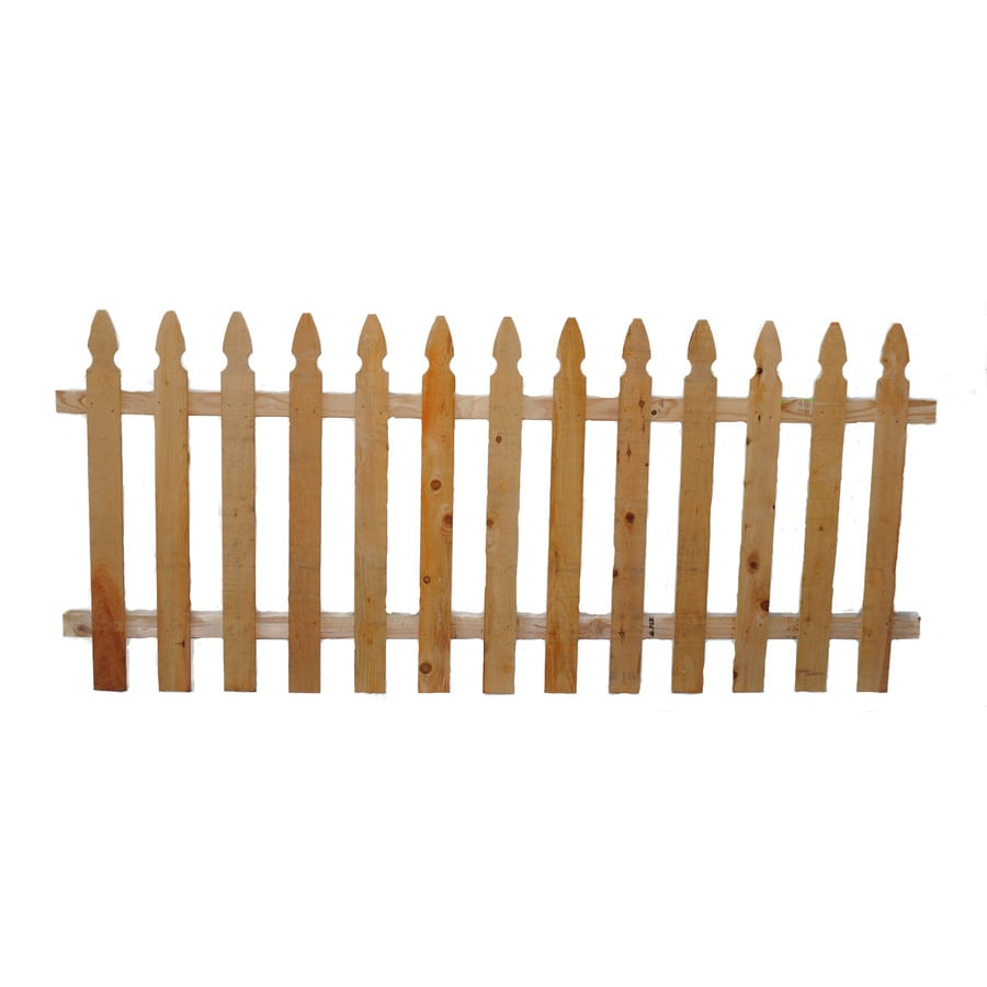 Cedar Fence Panel (Common: 3.5-ft x 8-ft; Actual: 3.5-ft x 8-ft)