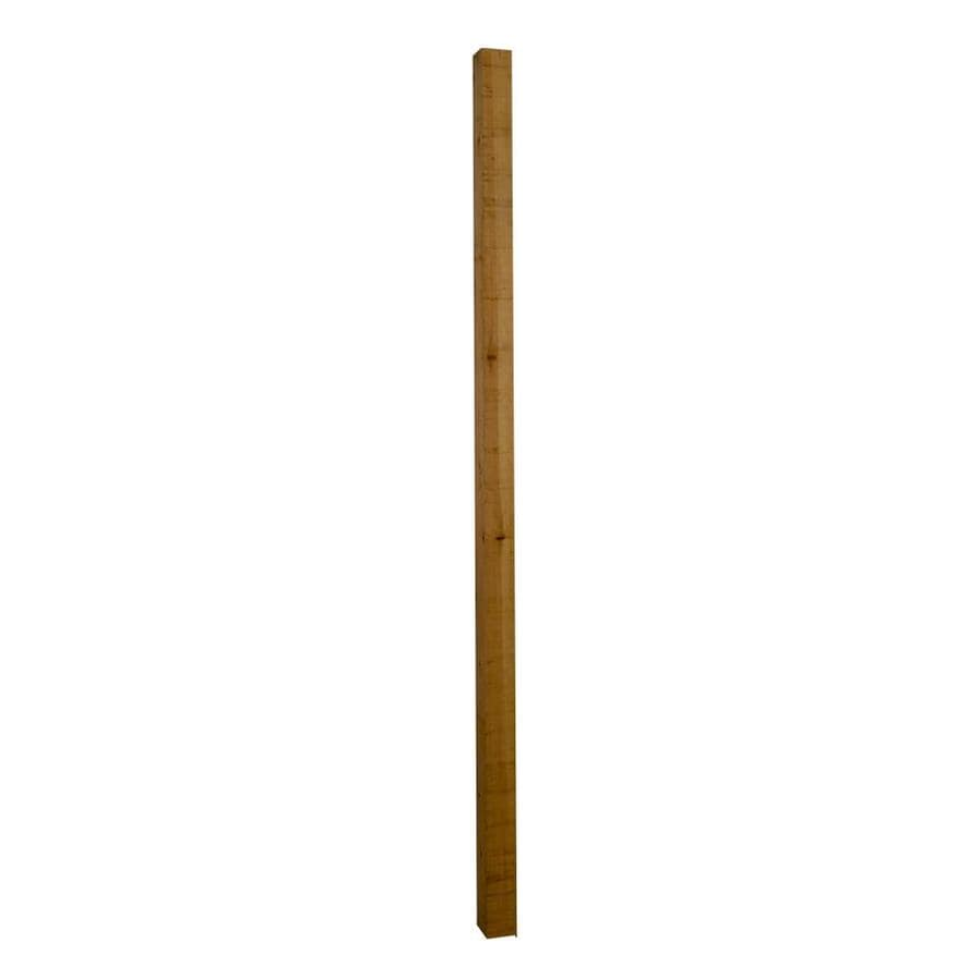 Severe Weather (Common: 4-in x 4-in x 8-ft; Actual: 3.5-in x 3.5-in x 8-ft) Cedar Universal Post