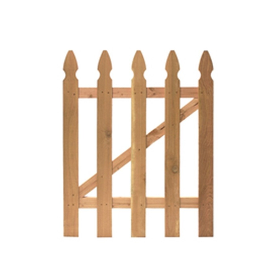Severe Weather (Common: 3.5-ft x 3.5-ft; Actual: 3.5-ft x 3.5-ft) Cedar Gate