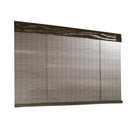 shop bamboo window shades at lowes com
