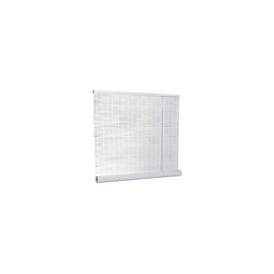 Style Selections White Light Filtering Vinyl Roll Up Shade