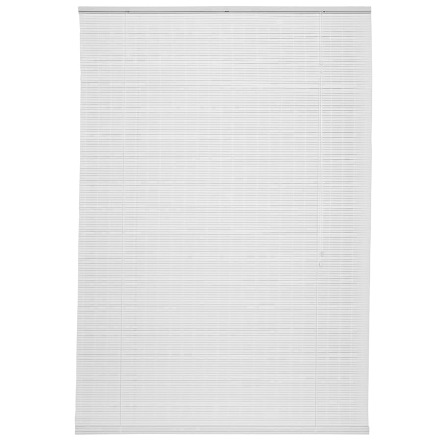 Style Selections White Light Filtering Pvc Roll-Up Shade (Common 96-in; Actual: 96-in x 72-in)