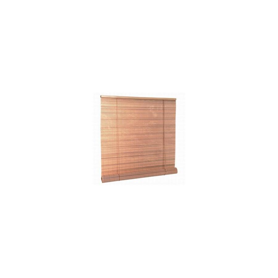 Style Selections Woodgrain Light Filtering Vinyl Roll Up