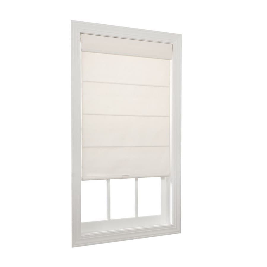 allen and roth cordless blinds cordless cellular allen roth ivory room darkening cordless polycotton roller and window shades home design ideas