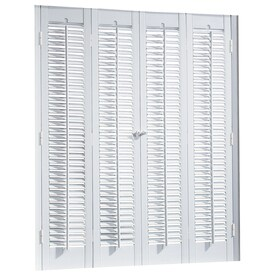 Delightful Allen + Roth Colonial Faux Wood Interior Shutter