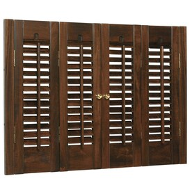 Style Selections Colonial Wood Interior Shutter