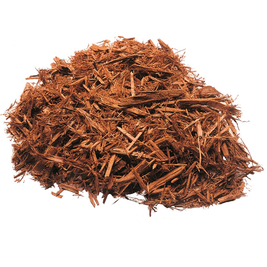 2-cu ft Light Brown/Gold Cypress Blend Mulch