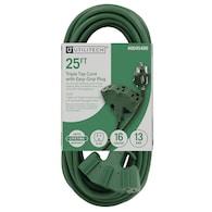 PRIME 25-ft 13-Amp 125-Volt 3-Outlet 16-Gauge Extension Cord