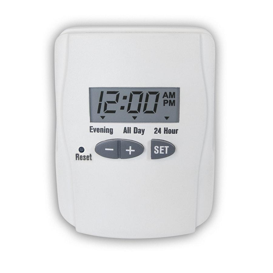 Utilitech 15-Amp Digital Residential Plug-in Lighting Timer