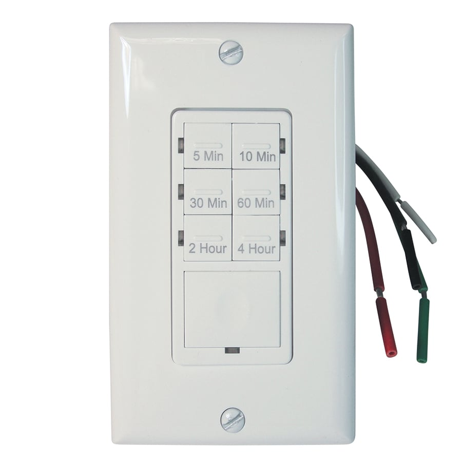 Shop Utilitech 15-Amp Digital Residential Hardwired Countdown ...