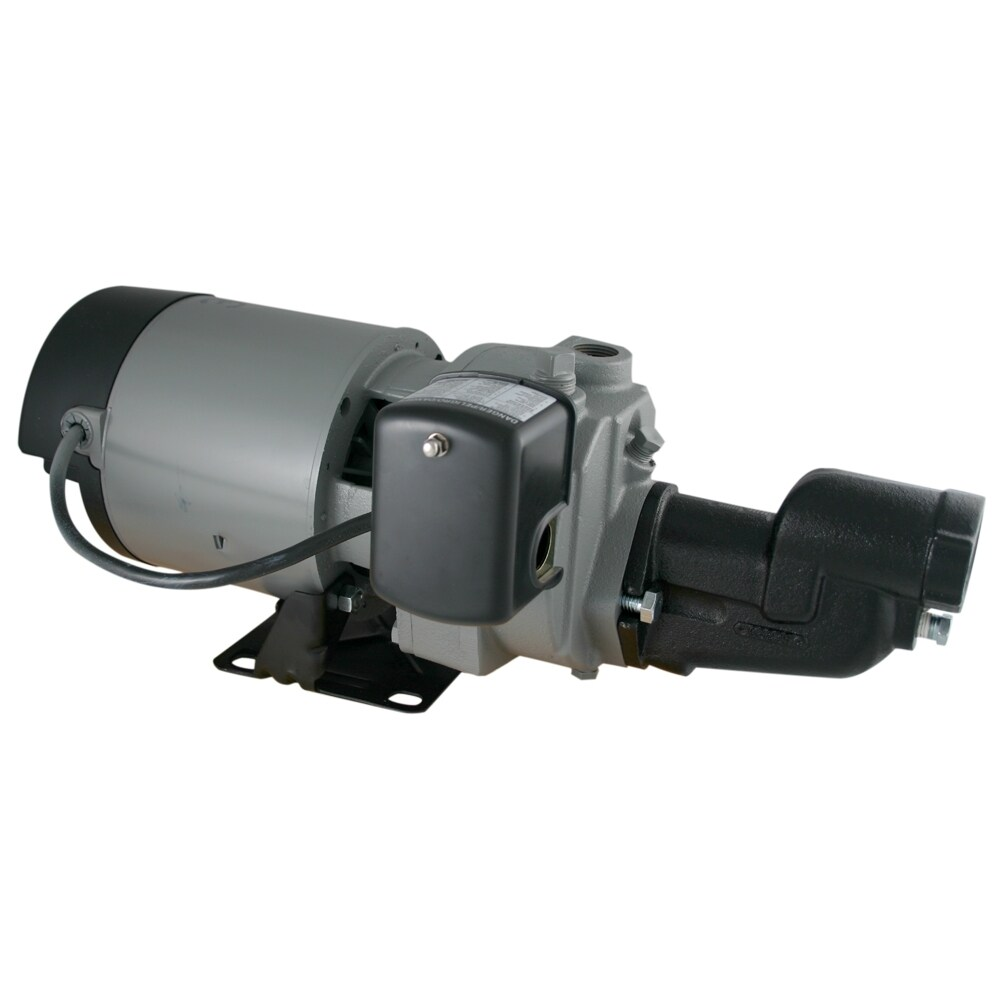 STAR Water Systems 1.5-HP Cast Iron Shallow Well Jet Pump