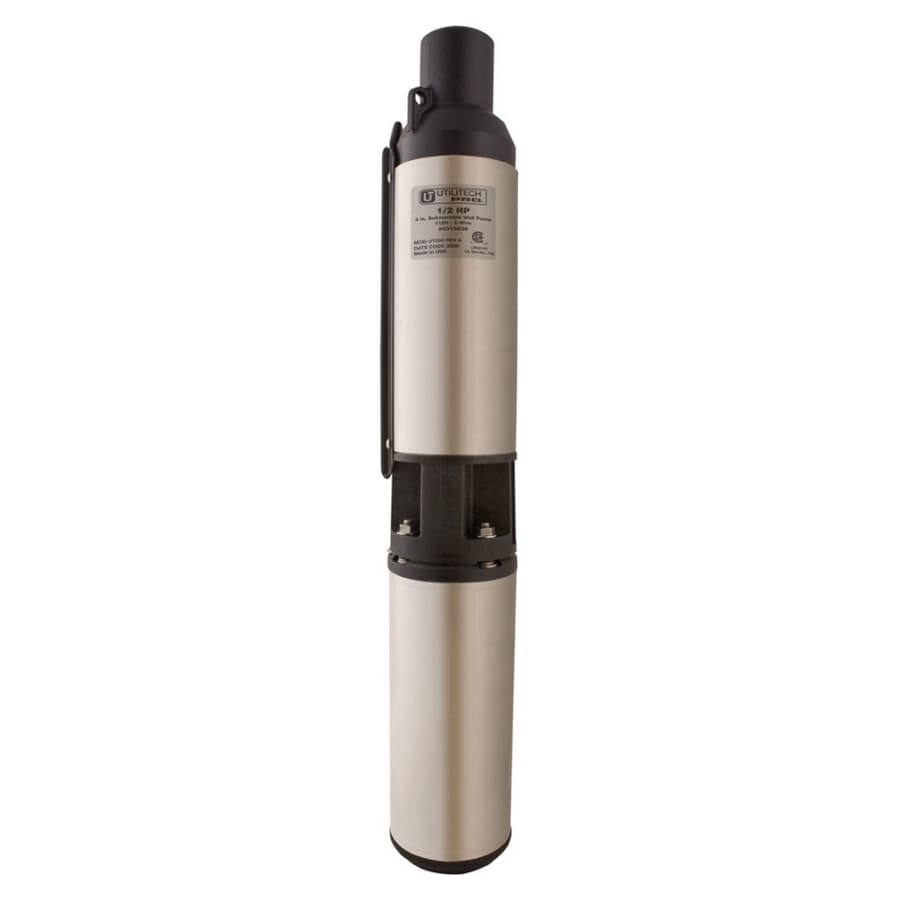 Utilitech 1.5-HP Stainless Steel Submersible Well Pump