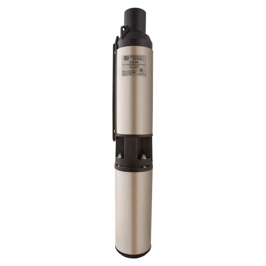Utilitech 0 5-HP Stainless Steel Submersible Well Pump at Lowes com