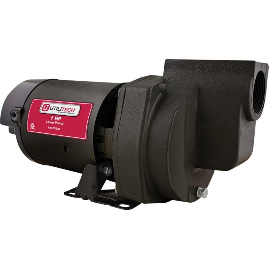 Utilitech 1-HP Cast Iron Lawn Pump
