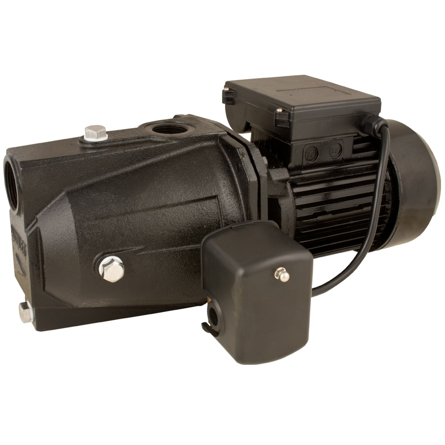 Shop Utilitech 1 Hp Cast Iron Shallow Well Jet Pump At