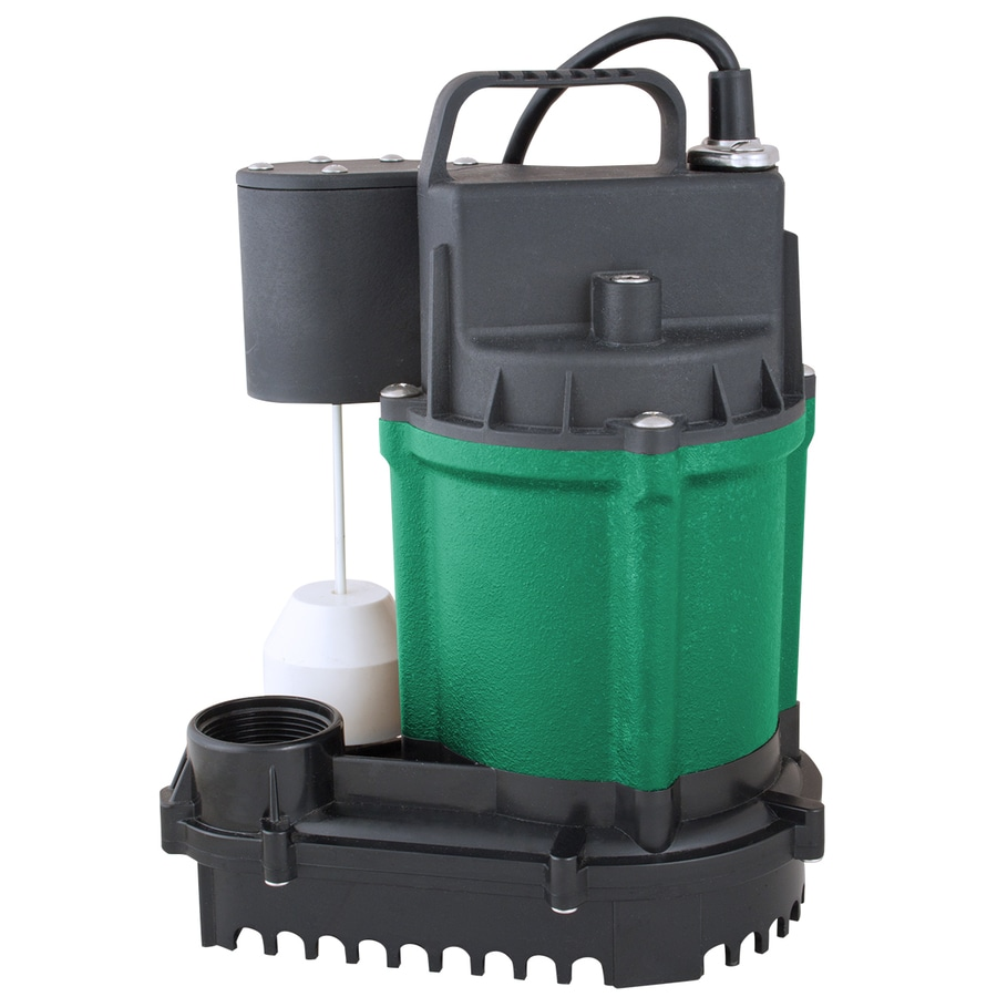 H2OPRO 0.75-HP Cast Iron Submersible Sump Pump