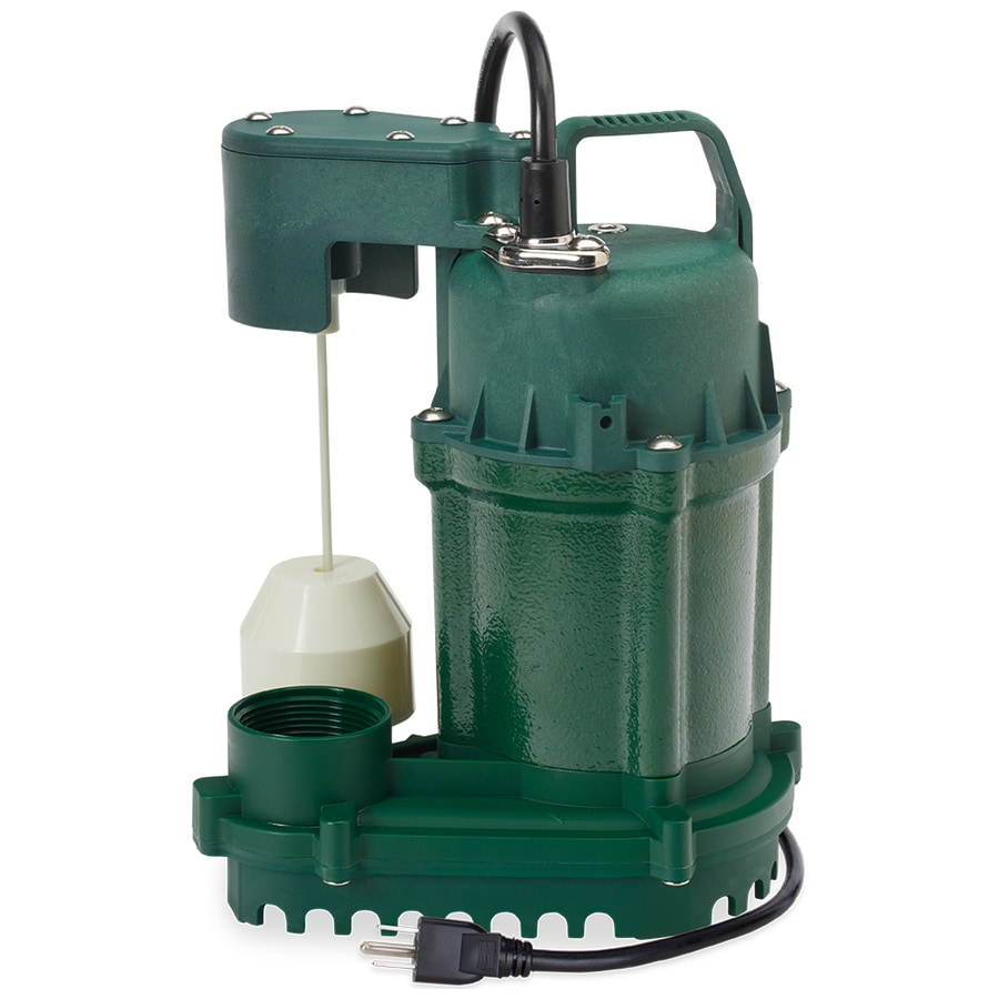 0 33 hpcast iron submersible sump pump Sump Pump Battery Pack For