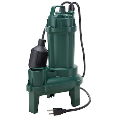 Zoeller 0 33-HPCast Iron Sewage Sump Pump at Lowes com