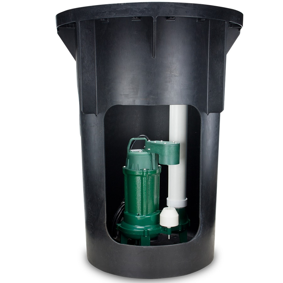 Zoeller 0 5 Hpcast Iron Sewage Sump Pump At Lowes Com